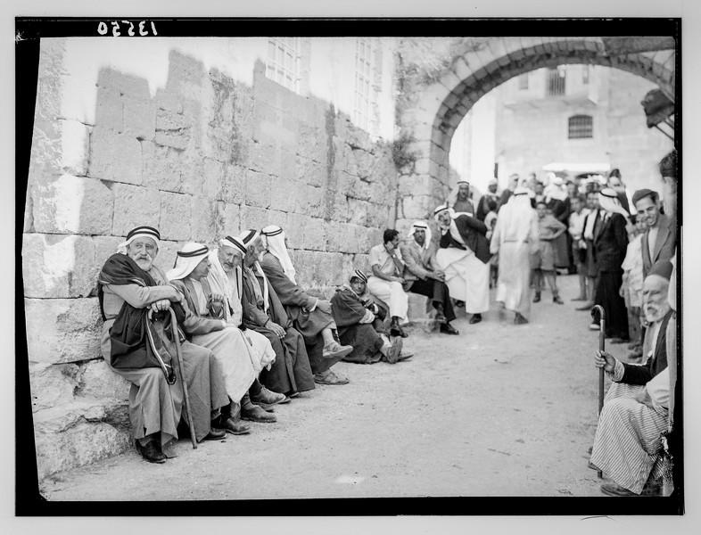 """Ruth"" story. Beit Sahur Street.  1940-1946"