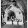 Street scene, probably Jerusalem.  1898-1946