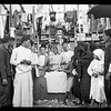 22.  A typical dry goods stall in Nabi Rubin, southern Palestine. 1920–1933
