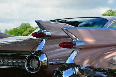 Pair of '59 Cadillac Coupe-de-Villes.