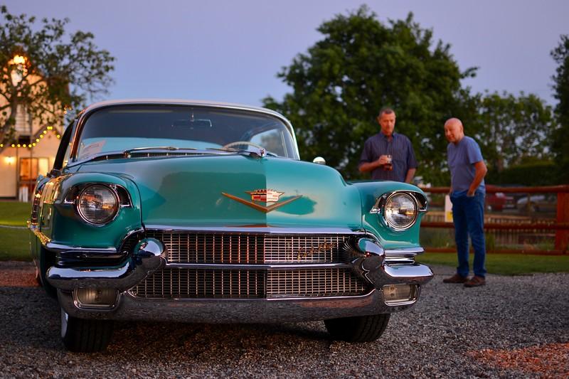 Gary's gorgeous '56 Cadillac
