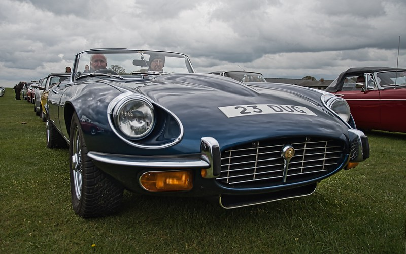V12 E-Type at CCVC Drive it Day 2019
