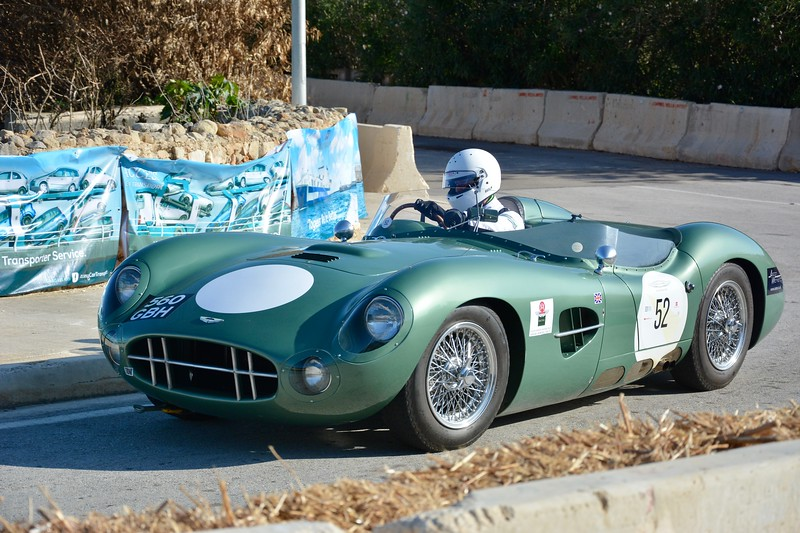 Aston DBR1 Replica at Malta Classic