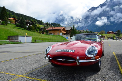 E-Type in Grindelwald