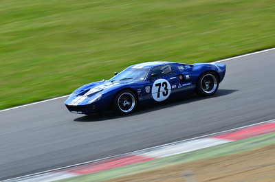 Ford GT40 at Brands Hatch