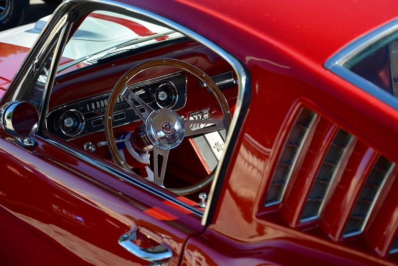 '60's Mustang Fastback at Bormla car show, Malta.