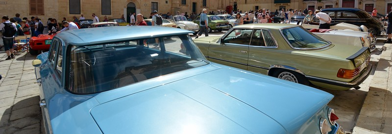 '60's Chevy at Mdina Car show in Malta