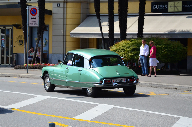 Citroen DS Spotted in Lugano, Switzerland