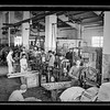 Match factory in Nablus.  Main working room.  1940