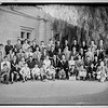 Group of St. George's graduates, teachers, bishop.  1944