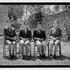 Group pictures of blind school in Hebron.  1940-1946