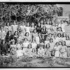 Arab Ladies' Union.  Girls's school group in Musrara Quarter.  1040-1946