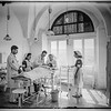 Operating theater in Hebron hospital. 1944