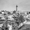 Main street and minaret in Gaza. 1920-1933