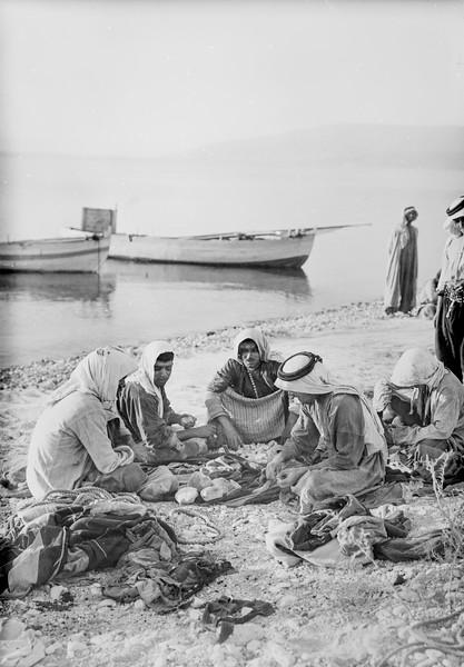 Galilee fishermen. 1898-1946