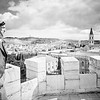 81.  Jerusalem from Tower of Notre Dame de France. 1934–1939