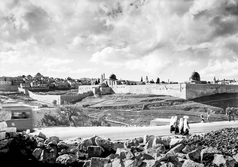 96.  Jerusalem from the Jericho Road. 1941