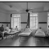 78.  Scots Mission Hospital, Tiberias.  Interior of dormitory, downstairs (ground floor). 1940–1946