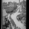 Parade of Allied nations in Jerusalem.  1943
