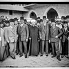 Arab protest delegations, demonstrations and strikes against British policy in Palestine.  An Arab delegation to London.  1929