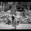 148.  Jenin.  Inhabitants salvaging their household effects. 1938