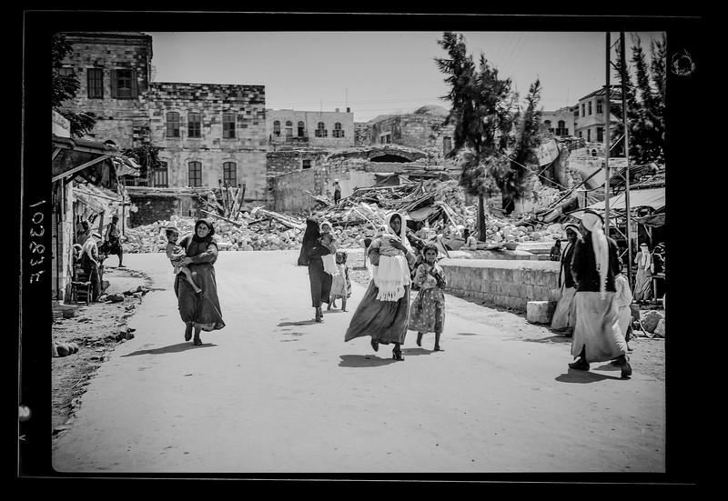 Jenin dynamiting. 1938