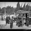 142.  Searching an Arab bus for arms on the Jerusalem-Jaffa Road. 1938