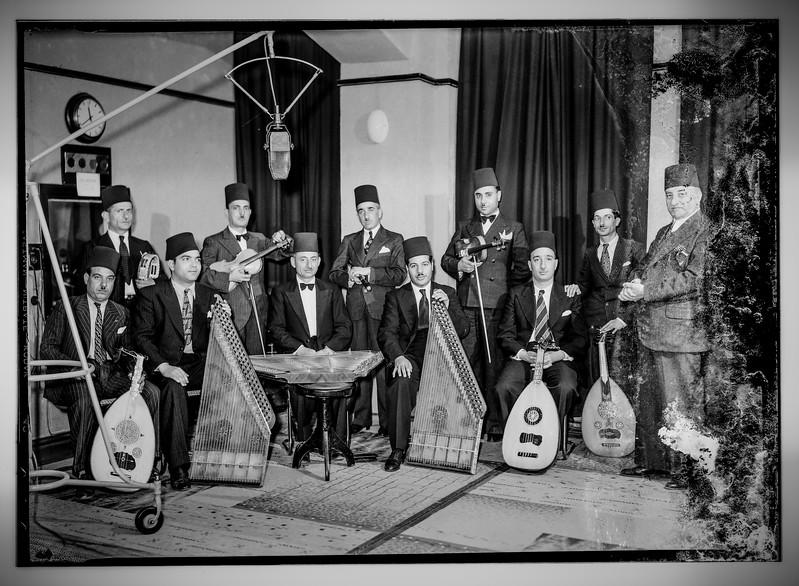 Radio Artists, Palestine Broadcasting Service. 1936-1946