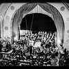 Palestine Broadcasting Services Choral Society debut concert at Y.M.C.A. auditorium. 1938