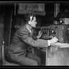 152.  Inauguration of the Palestine Broadcasting Service.  Engineer controlling broadcasting in Ramallah. 1936