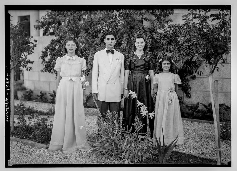 182.  Dajani family. 1945