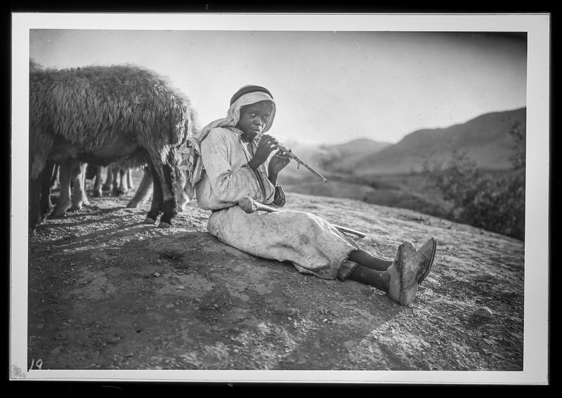180.  Shepherd playing flute. 1925–1946