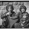 Scots Mission Hospital, Tiberias. Bedouin women at the clinic, waiting.  1934-1939