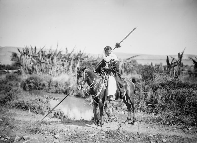 186.  Bedouin warrior. 1898–1914