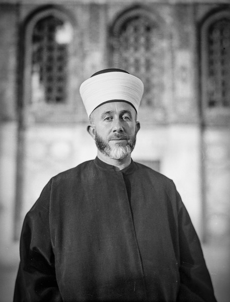 His Eminence the Grand Mufti of Jerusalem, Haj Amin Effendi el-Husseini. 1937