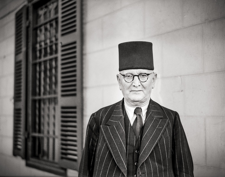 161.  Mohamed Kurd Ali, Arab professor of literature. 1941