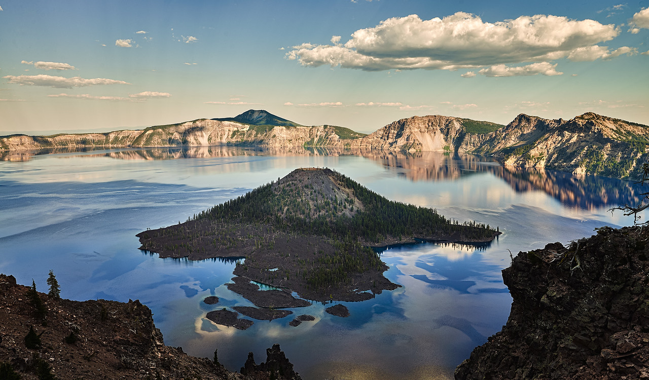 Clear Water, Crater Lake
