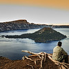 Looking to Crater Lake
