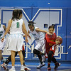 The second quarter of the Pojoaque High School vs Española Valley High School girls basketball game at St. Mike's on Thursday, December 29, 2016. Luis Sanchez Saturno/The New Mexican