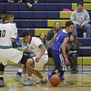 The second quarter of the St. Michael's High School vs Hobbs High School during the first round of the Capital City Invitational at Santa Fe High School on Thursday, December 8, 2016. Luis Sánchez Saturno/The New Mexican