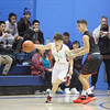 The first quarter of the Portales High School vs Santa Fe Indian School boys basketball game during the Horsemen Shootout at St. Michael's High School on Thursday, January 12, 2017. Luis Sánchez Saturno/The New Mexican