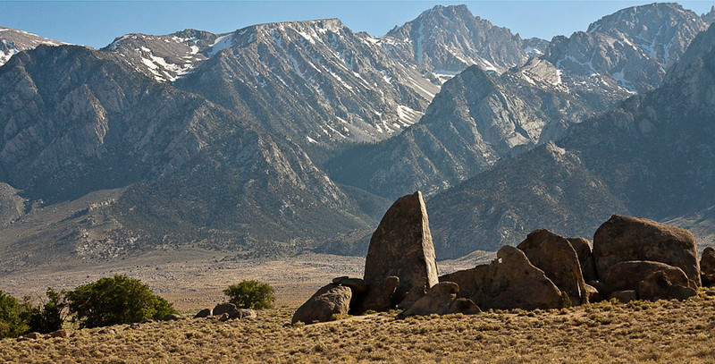 Alabama Hills Below the Sierra Nevada