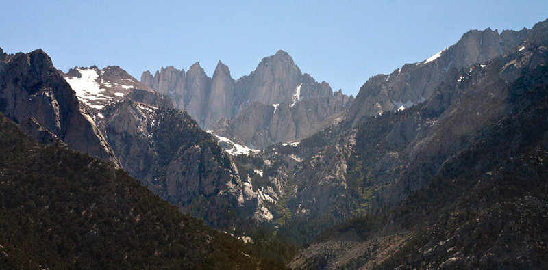 Mt Whitney in the Distance