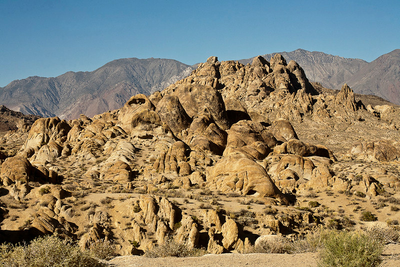 Alabama Hills, Natural Setting for Western Movies