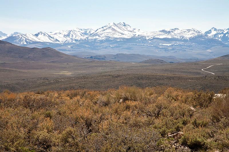 Sierra Nevada from Bodie Road