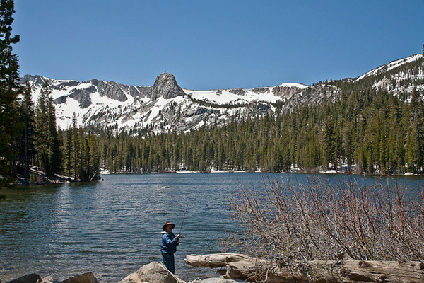Mary Lake At Mammoth Lakes
