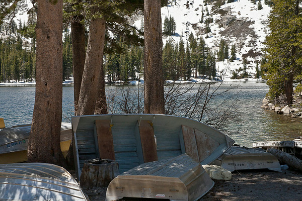 At Mary Lake, Mammoth Lakes