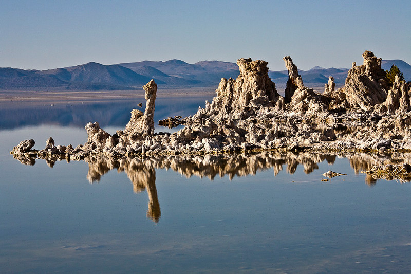 Tufa Formations Reflected