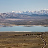 Mono Lake, Mono Craters, and Sierra Nevada From Conway Summit