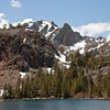 Little Virginia Lake with Lingering Snow